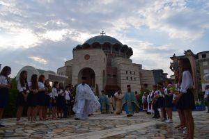 Consécration de la nouvelle cathédrale orthodoxe de Gjirokastër (Albanie)