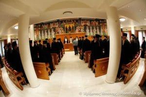 Communiqué du Saint-Synode de l'Église de Grèce au sujet de l'incursion d'un groupe d'anarchistes dans l'église Saint-Grégoire-Palamas à Thessalonique