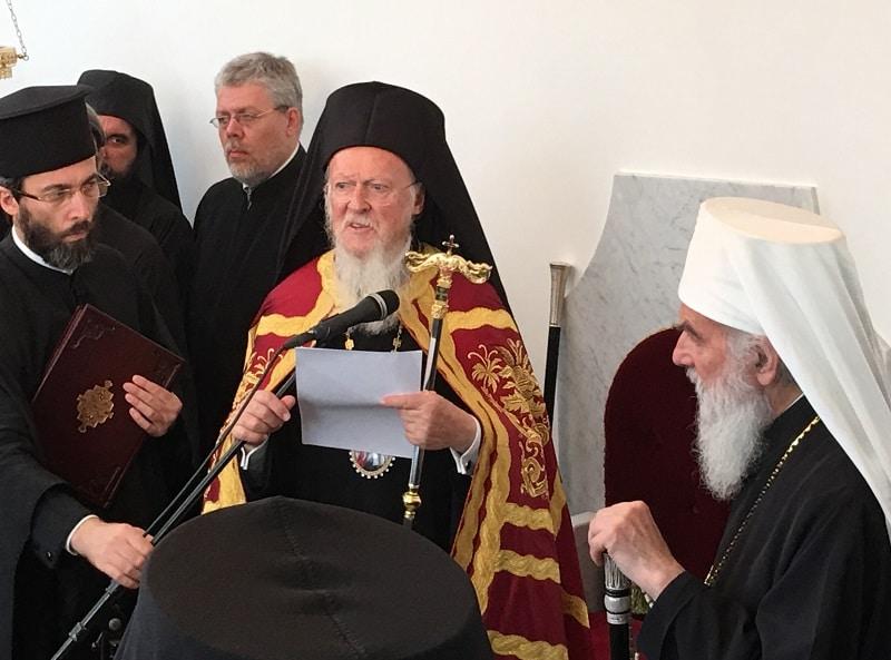 Discours du patriarche œcuménique Bartholomée à l'issue de la doxologie solennelle à Zagreb, le 9 septembre 2016
