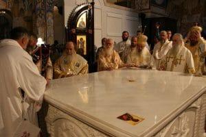 Le patriarche de Jérusalem Théophile III a présidé la consécration de la cathédrale Saint-Jean-Vladimir à Bar (Monténégro)