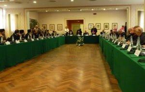 Des tensions se sont manifestées au cours de l'élection du co-président orthodoxe de la Commission mixte internationale pour le dialogue théologique entre l'Église catholique et l'Église orthodoxe