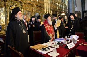 A Istanbul, ouverture de la synaxe des Primats des Églises orthodoxes 6-9 mars 2014