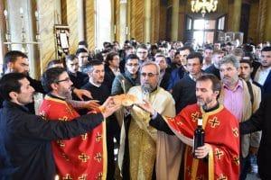 Commémoration à Bucarest du XXIIIème anniversaire du trépas du père Dumitru Stăniloae