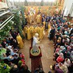 Le patriarche de Moscou Cyrille a célébré les vigiles en l'église de la Dormition à Londres (Église orthodoxe russe hors-frontières)