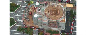 La nouvelle église Saint-Nicolas de Manhattan (archevêché orthodoxe grec d'Amérique) prend forme