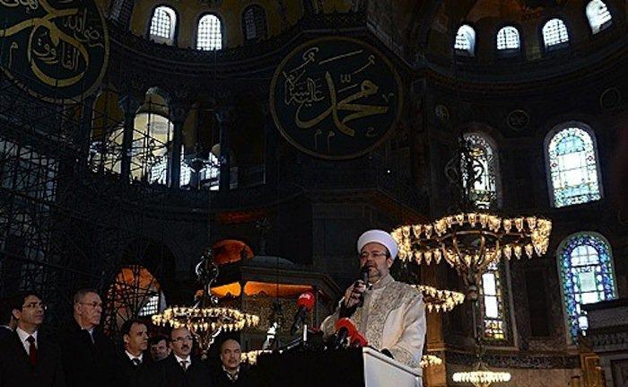 Un imam permanent est nommé à Sainte-Sophie de Constantinople