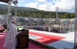 L'Église orthodoxe de Géorgie n'a pas envoyé de délégation à la messe célébrée par le pape François à Tbilissi