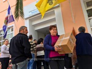 «Apostoli», l'organisme caritatif de l'archevêché d'Athènes, continue à soutenir les familles dans les régions éloignées de Grèce