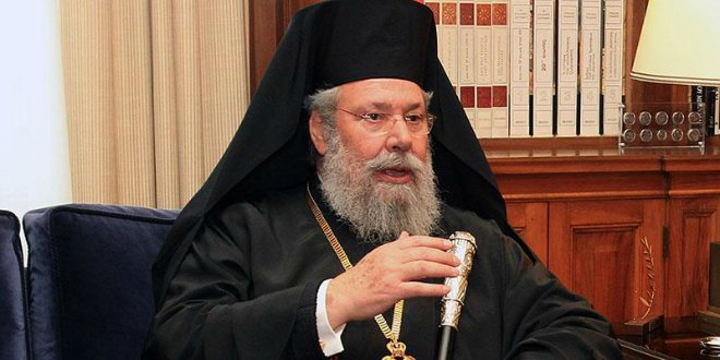 Interview with Archbishop Chrysostomos of Cyprus about his mediation concerning the Ukrainian issue