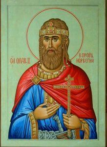 Saint Ola, roi de Norvège