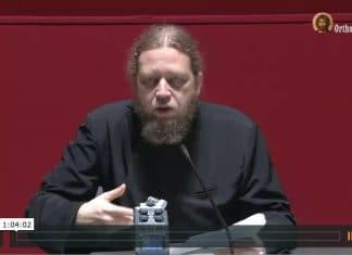"""Vidéo de la 3e conférence du p. Razvan Ionescu """"La réponse orthodoxe à l'athéisme et à la sécularisation"""" – 28 octobre"""