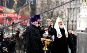 Le patriarche Cyrille a béni le monument au saint prince Vladimir à Moscou