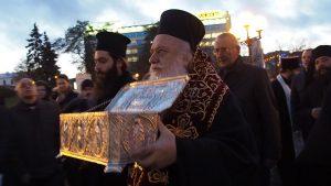 Des reliques de saint Dimitri de Thessalonique arrivent en Biélorussie