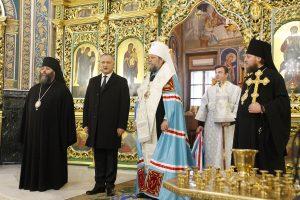 Le métropolite de Chișinău Vladimir a assisté à la cérémonie d'investiture du nouveau président de la République de Moldavie Igor Dodon