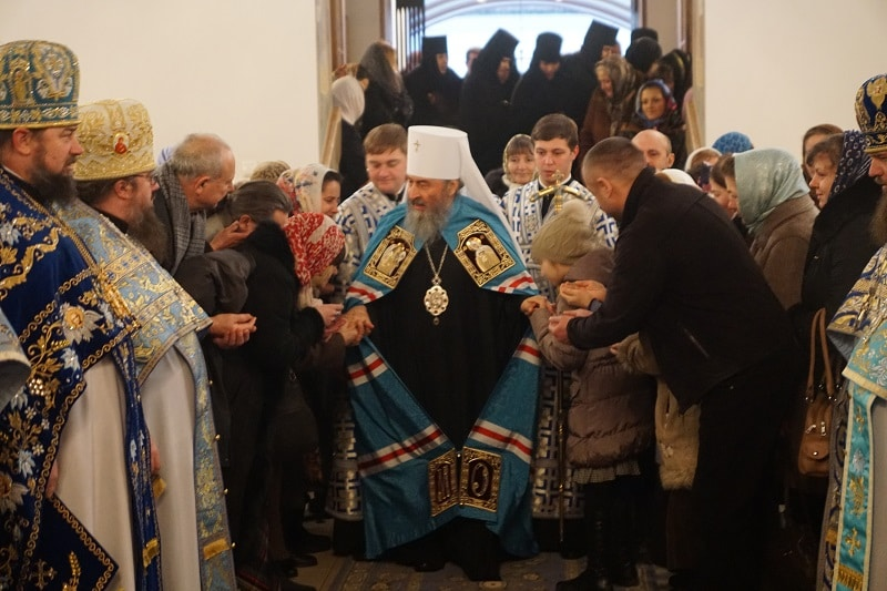Le métropolite de Kiev Onuphre appelle les chrétiens à venir le plus souvent possible à l'église