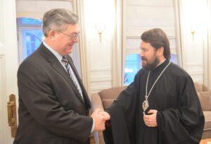 Le métropolite Hilarion de Volokolamsk a reçu le nouvel ambassadeur de Russie en Suisse