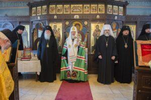 Le patriarche Cyrille de Moscou a visité le Séminaire orthodoxe russe à Épinay-sous-Sénart