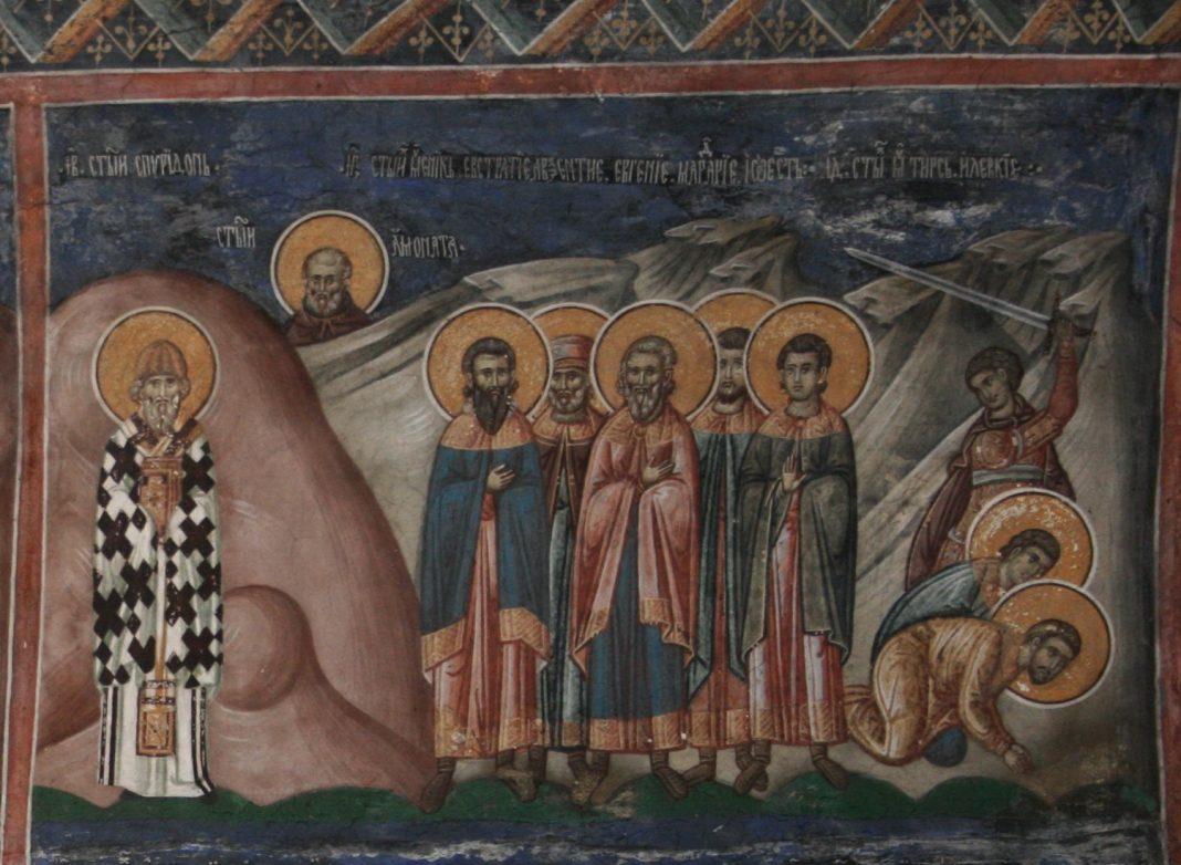 Saints Thyrse, Leucius et Callinique - Orthodoxie.com