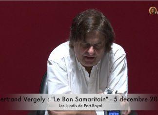 Bertrand Vergely Le bon Samaritain - Orthodoxie.com