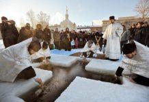 1 800 000 personnes ont pris part aux «bains de la Théophanie» en Russie