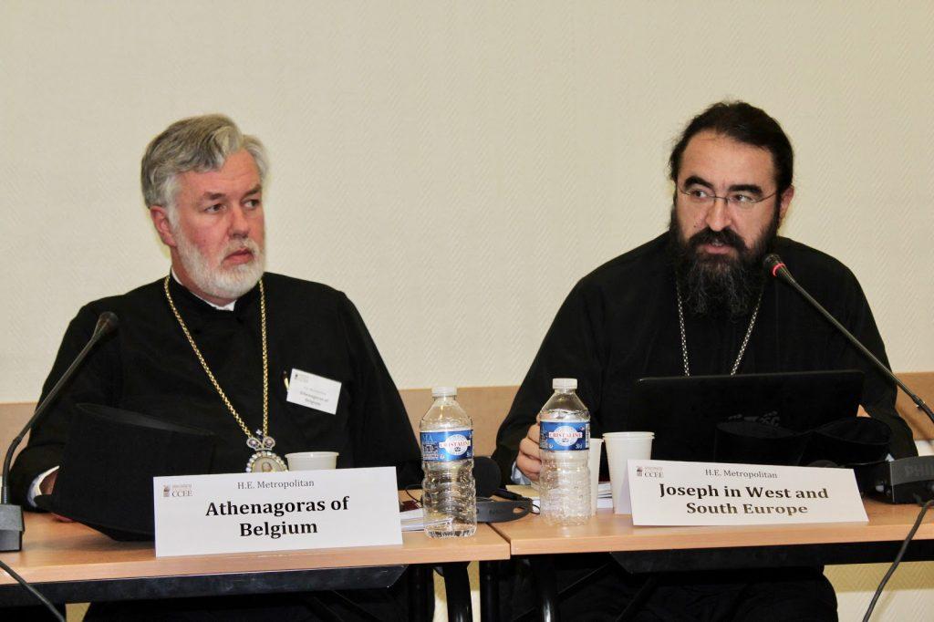 Le rapport de Mgr Athénagoras de Belgique sur «La cohésion sociale et le phénomène de la peur. La mission des dirigeants et la contribution de l'Eglise. L'Etat de droit»