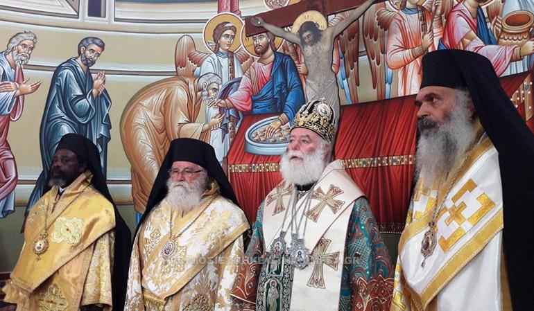 Visite pastorale du pape et patriarche d'Alexandrie Théodore II au Congo-Kinshasa