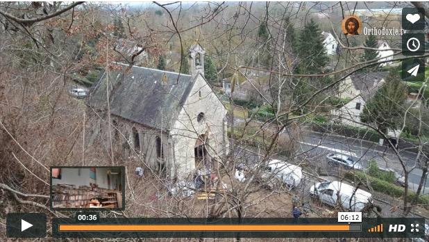 Reportage vidéo : une nouvelle paroisse orthodoxe à Auvers-sur-Oise (Ile-de-France)