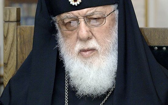 Patriarch Ilia's Message on the occasion of the 10th anniversary of Patriarch's Kirill enthronement