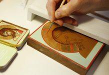 Atelier d'iconographie en stage intensif à l'Institut Saint-Serge