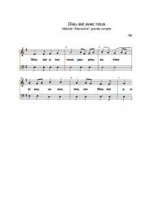 Site dédié à la musique liturgique du père Michel Fortounatto