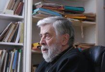 Un portrait du père Boris Bobrinskoy