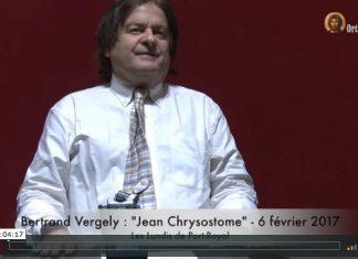 Bertrand Vergely Jean Chrysostome - Orthodoxie.com