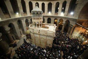 Risque d'effondrement de la basilique du Saint-Sépulcre