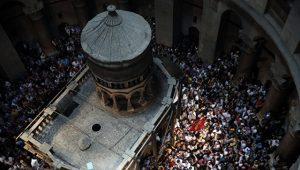 Les travaux de restauration du Saint-Sépulcre seront terminés pour la fête de Pâques