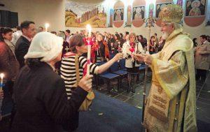 Les célébrations de la Semaine sainte et de Pâques à Chambésy (Suisse)