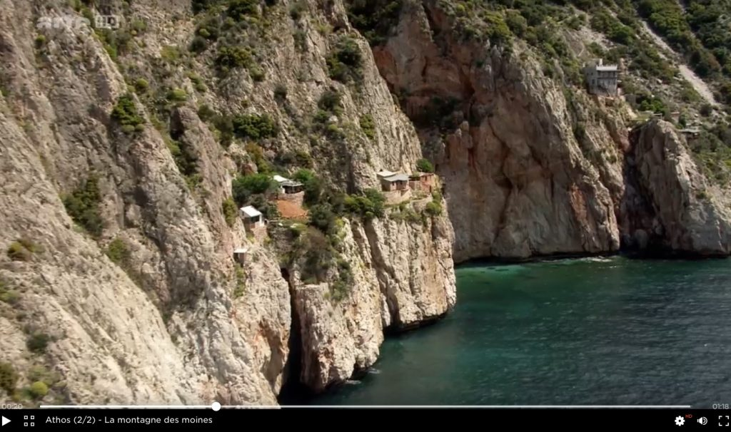 Samedi 15 avril deux émissions sur le Mont Athos sur ARTE