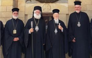 Le patriarche œcuménique Bartholomée a visité l'église orthodoxe Saint-Georges, dans la vieille ville du Caire