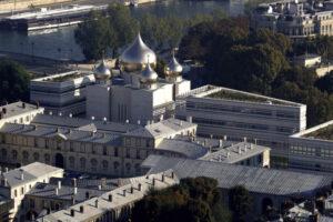Vidéo: visite, hier, du président V. Poutine à la cathédrale de la Sainte-Trinité à Paris