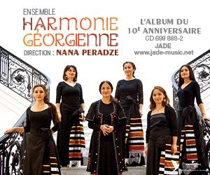 CD collector 10e anniversaire de l'ensemble « Harmonie géorgienne »