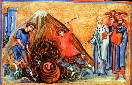 Troisième invention du chef du saint prophète précurseur et baptiste, Jean