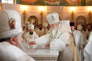 Le patriarche de Moscou Cyrille a consacré l'église de la Résurrection du Christ et des nouveaux martyrs et confesseurs de Russie à Moscou