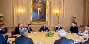 Le roi Philippe de Belgique a rencontré les leaders des religions reconnues en Belgique