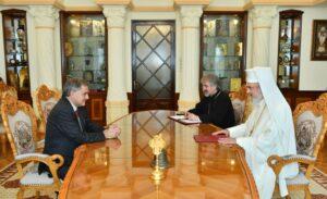 Le patriarche de Roumanie Daniel a reçu l'ambassadeur de France à Bucarest pour une visite d'adieu
