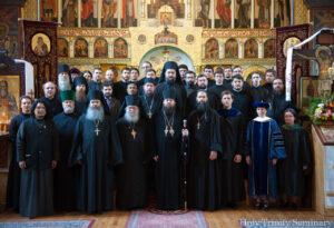 69ème remise des diplômes au Séminaire orthodoxe russe de la Sainte-Trinité à Jordanville (États-Unis)