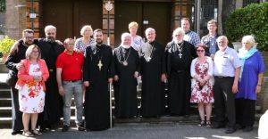 Visite canonique de l'évêque Luc (diocèse d'Europe occidentale de l'Église orthodoxe serbe) aux paroisses du Benelux