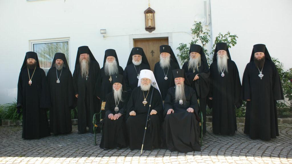 Session du Synode de l'Église orthodoxe russe hors-frontières – Rencontre avec une délégation de l'Archevêché