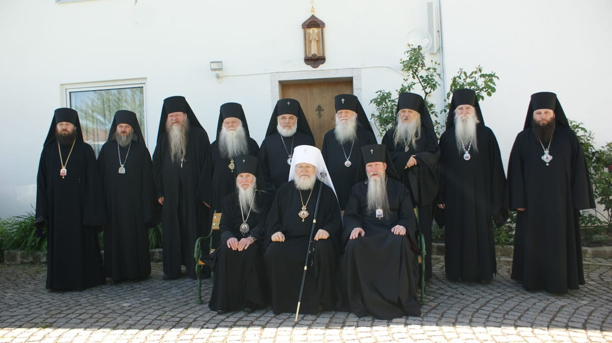 The ROCOR Synod of Bishops and the Western Europe Archdiocese