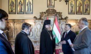 Un hiérarque de l'Église orthodoxe russe a rencontré le Premier ministre hongrois, Viktor Orban