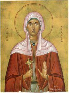 Sainte Christine, mégalomartyre à Tyr en Phénicie (vers 300)