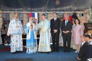 Le patriarche de Serbie Irénée à célébré le jour de la saint Vit («Vidovdan»), fête nationale serbe, au monastère de Gračanica et au «Gazimestan» monument situésur le «Champ des merles» au Kosovo